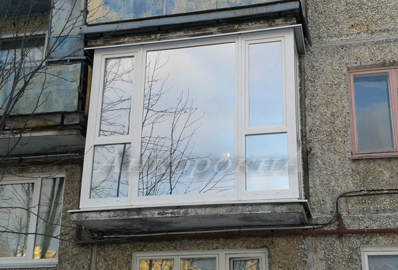 панорамные окна и балконы в хрущевке