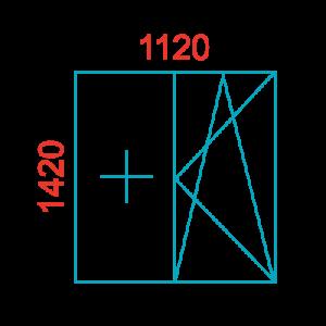 размер окна 137 серия