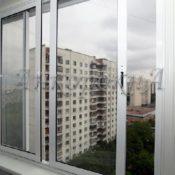 раздвижные алюминиевые окна фото