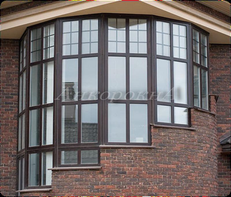 эркерные панорамные окна