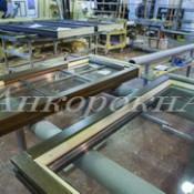 производство деревянных стеклопакетов в Петербурге