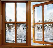 кортинка деревянные окна от Анкорокна