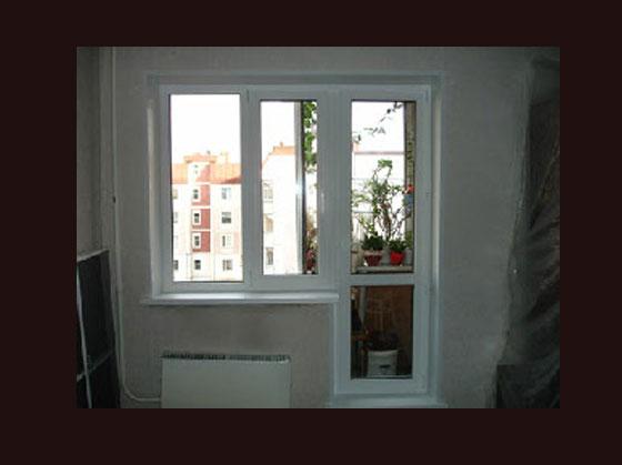 Фото установленных окон в спб компанией анкорокна.