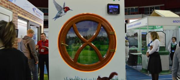 """Стенд-АнкорокнА на выставке """"Строим дом"""""""