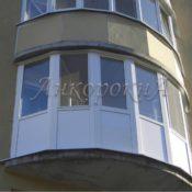 остекление балкона эркерами услуги в СПб