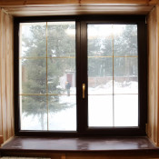 Деревянные окна width=