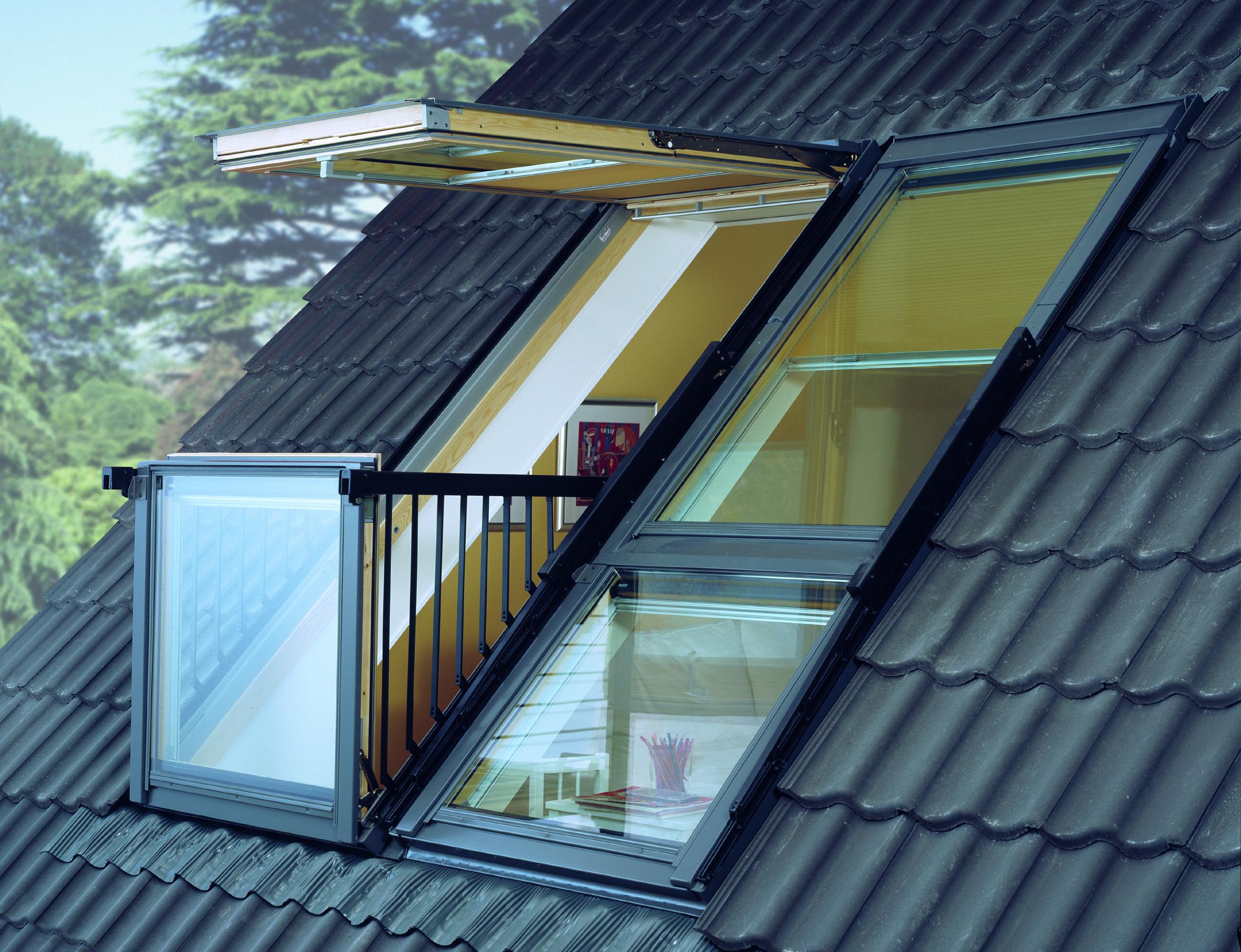 Крыша балкона с люком. - галерея работ остекление - каталог .