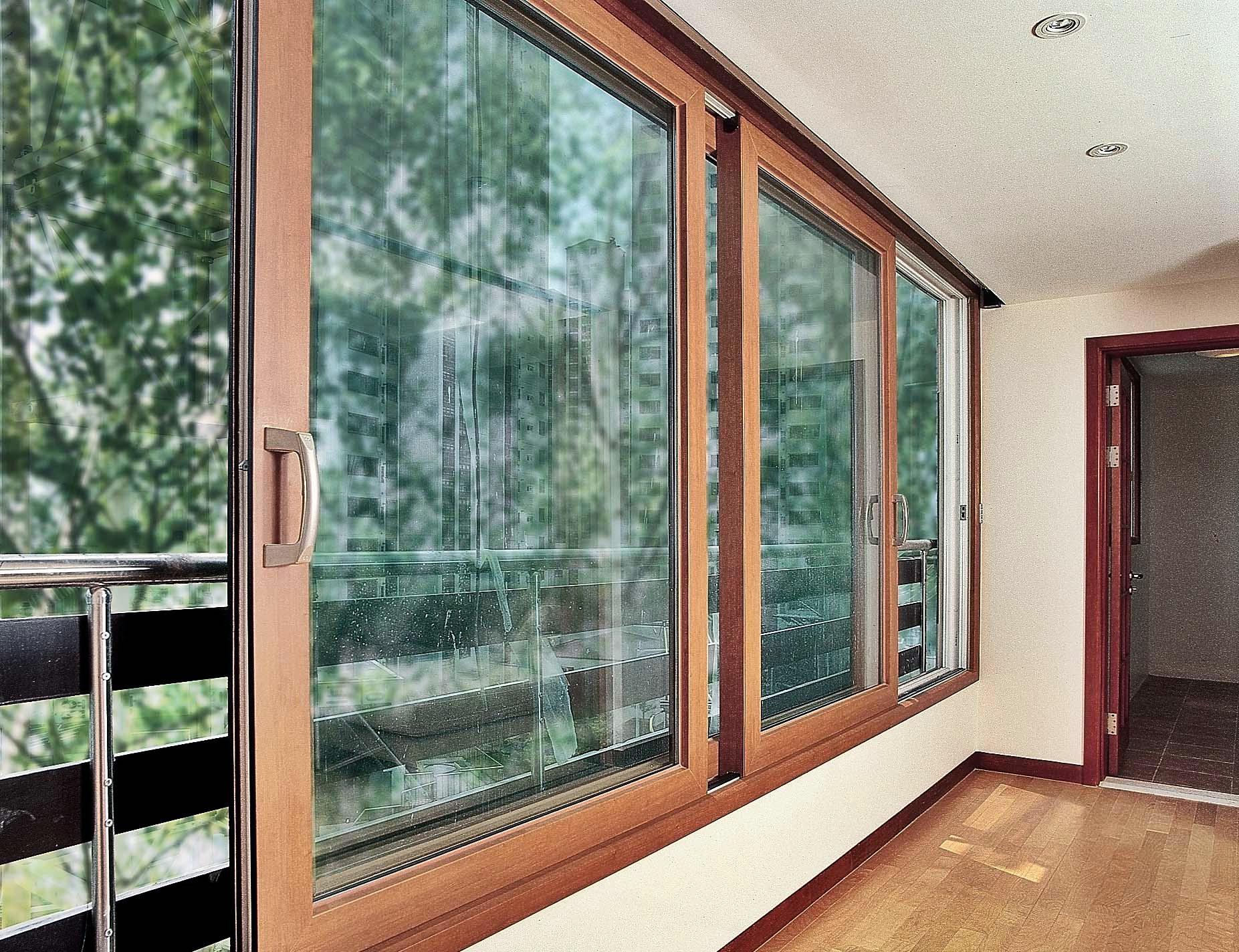 Раздвижные окна на балкон - изготовление и монтаж в спб.