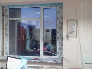 монтаж окон пвх для офиса
