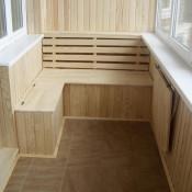 внутренняя отделка балкона лоджии спб