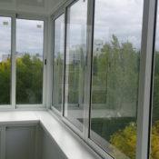 раздвижные окна на балкон фото