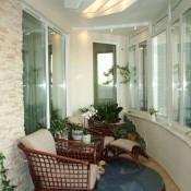теплое остекление лоджии балкона
