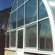 алюминивые нестандартные окна спб