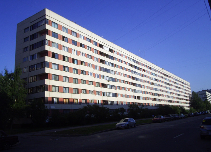 дома 600 серии корабли СПб