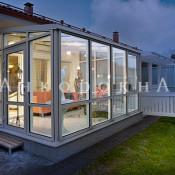 окна с алюминиевым профилем для веранды
