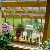 стеклянный сад из дерева