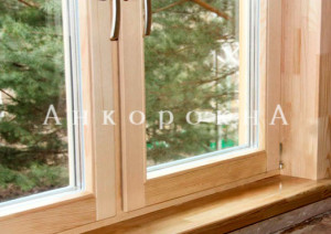 отличия и особенности окон из сосновых пород дерева спб