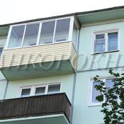 металлопластиковое окно на балкон в брежневку - питер