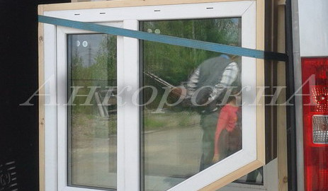 купить окна в деревянных обсадах в спб