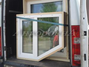 установка стеклопакетов с деревянной окосячкой