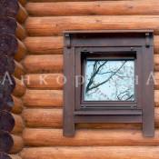 пластиковое ламинированное окно в баню в спб