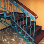 ковка лестницы