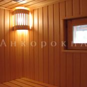 квадратное окно 500 на 500 мм в баню