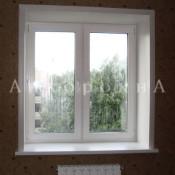 пластиковые окна размером 1300 на 1200 мм
