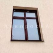двустворчатое окно 1750 на 1320 мм с фрамугой в спб