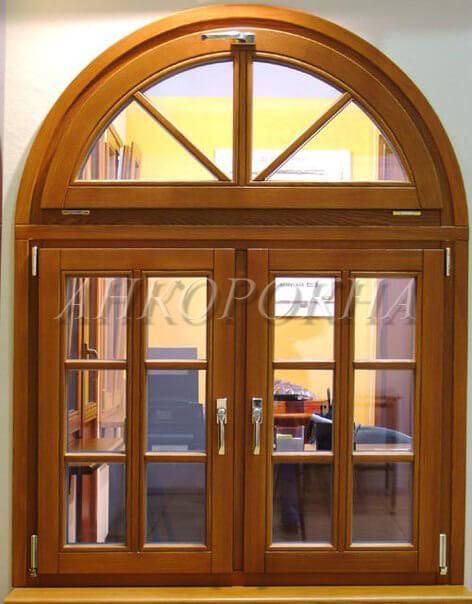 эксклюзивные деревянные окна в спб