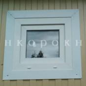 маленькое пвх окно 50*50 см