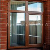 окно двустворчатое 175 на 132 см ленобласть