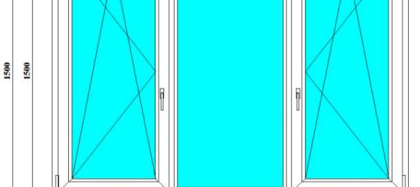 окно пвх 1500 на 2100 в спб