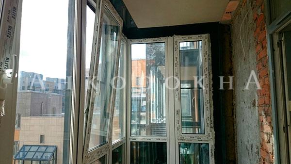 заменить холодное остекление на теплое без изменения фасада здания - фото