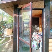 окна и двери для веранды на заказ