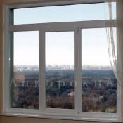 окно с фрамугой 1700*1800 мм - фото