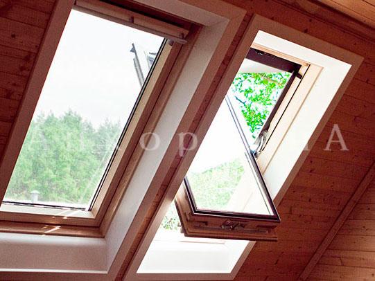 мансардное окно в коттедж или на дачу