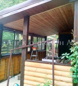 установка стеклопакетов ,окон и дверей в загородных домах