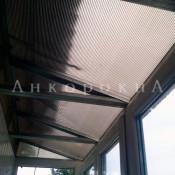 крыши на балкон из поликарбоната фото