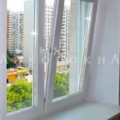 двустворчатые окна с фрамугой в старый фонд СПб