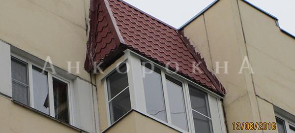замена холодного остекления лоджии на теплое в СПб
