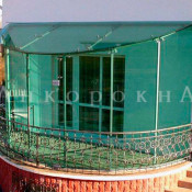 балконные крыши из стекла в спб и ленобласти
