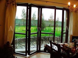 складные двери гармошка на лоджию фото