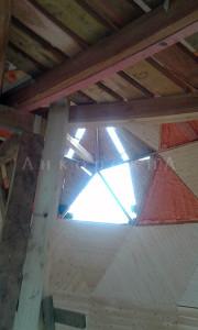 фото крыши до установки окон