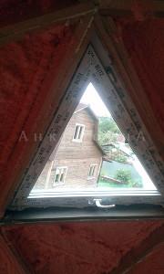 изготовление треугольных окон в СПб