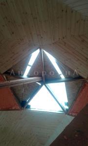 крыша без окон - до остекления