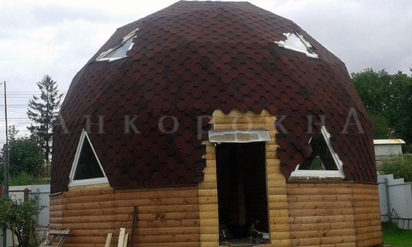 монтаж треугольных окон в Ленобласти