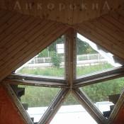треугольные окна - нестандартные стеклопакеты в спб