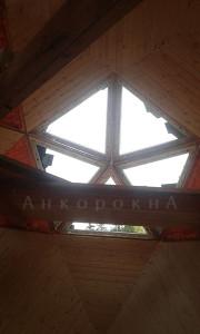 треугольные окна - установка в СПб