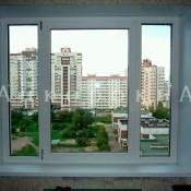 Трехстворчатое окно 1420*1700 мм в 137 серию